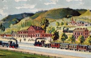 Eisenbahn-Idylle